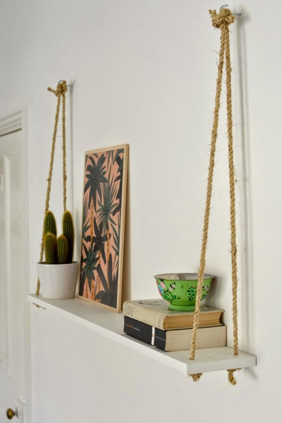 rope tie shelf