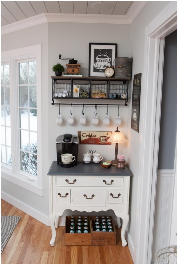 home coffee station 2