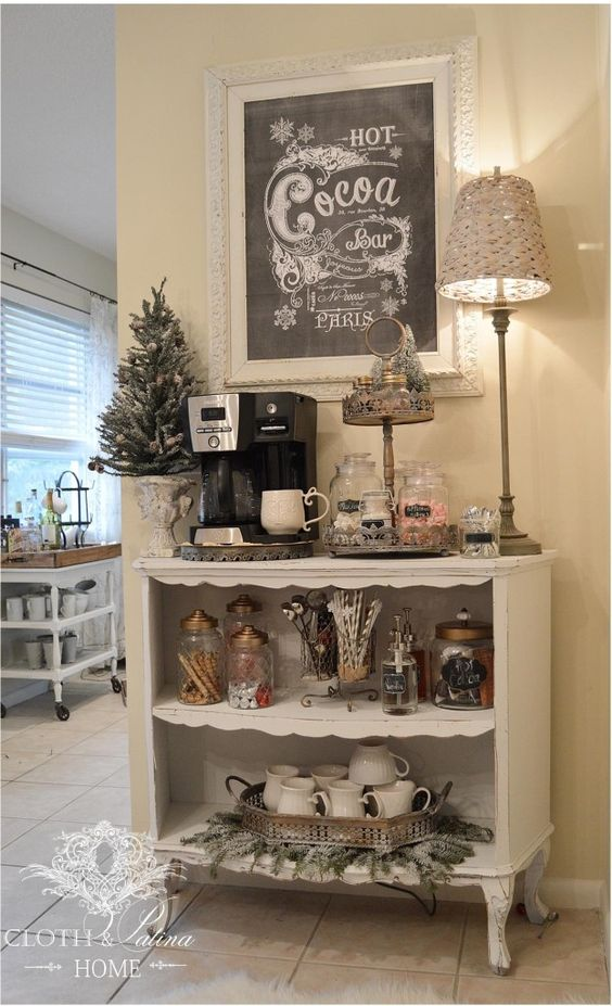 home coffee station 3