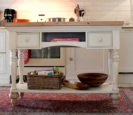 How to Make Your Own Kitchen Island | The DIY Life