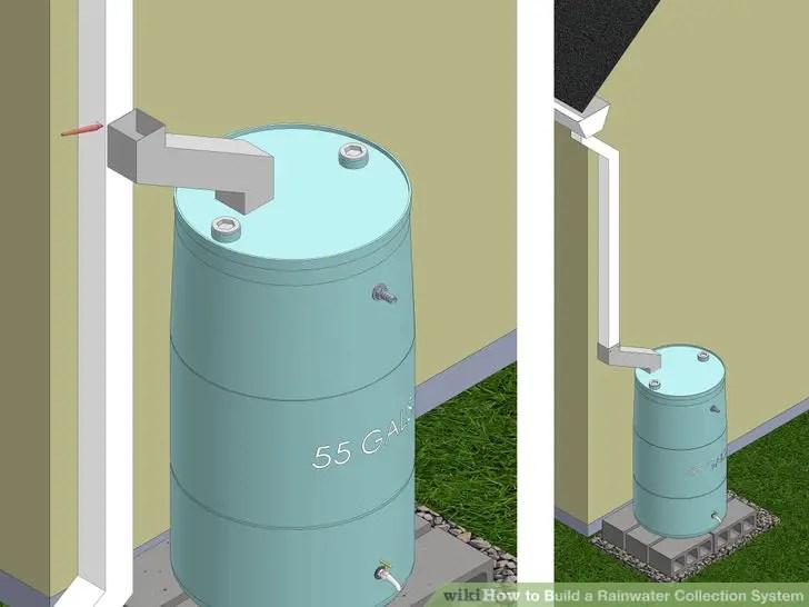 rainwater collection modification