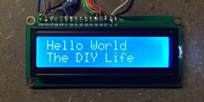 arduino lcd screen text display