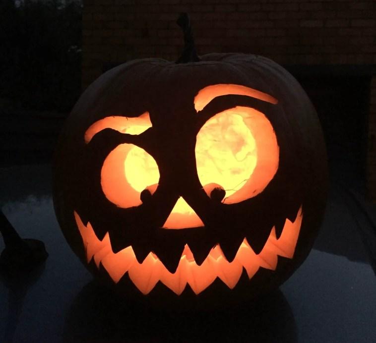 pumpkin-at-night