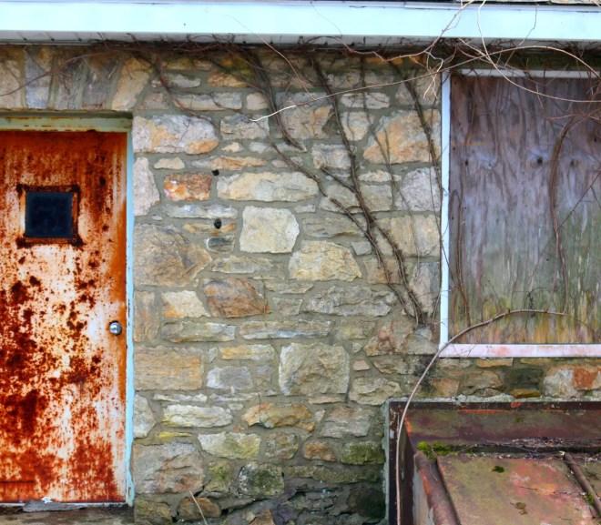 refurbish a rusted steel door