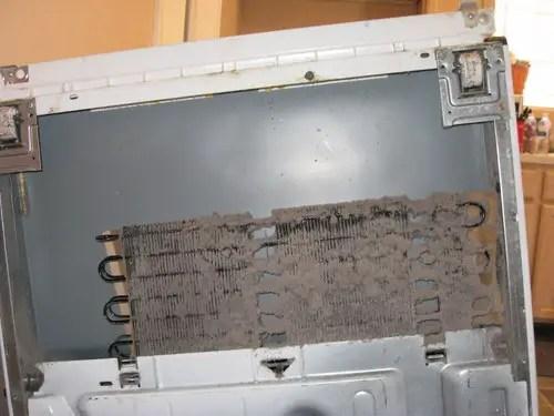 dust refrigerator coils maintenance