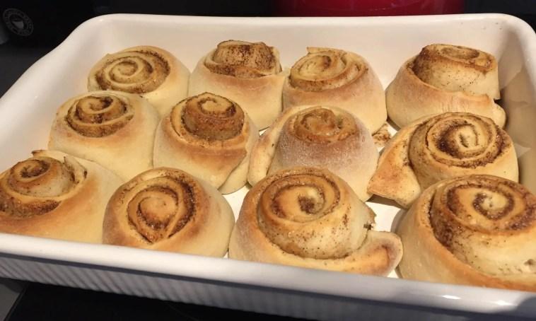 baked cinnabons