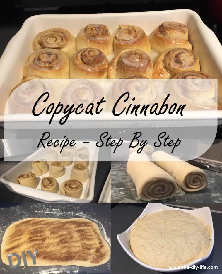 copycat cinnabon recipe with pictures pinterest
