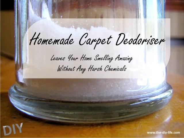 homemade carpet deodoriser pinterest