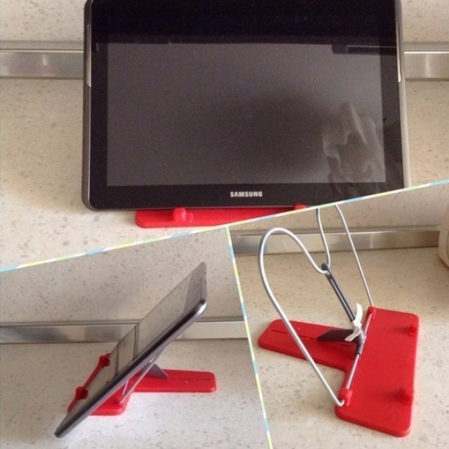 notebook stand to tablet stand hack