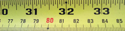 Ever Wondered What All The Markings On A Measuring Tape ...