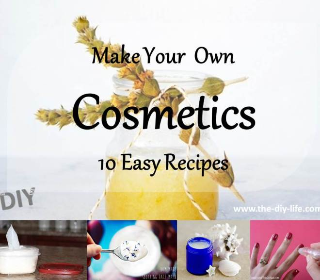 10 Awesome Recipes For Cosmetic Products You Can Make Yourself
