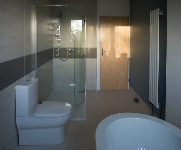 clean bathrooms and kitchen
