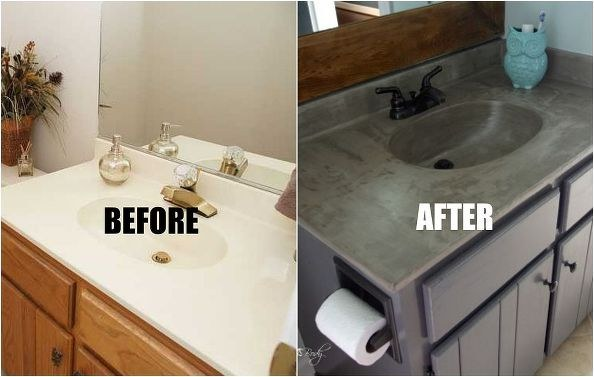 update your bathroom vanity in 20 minutes