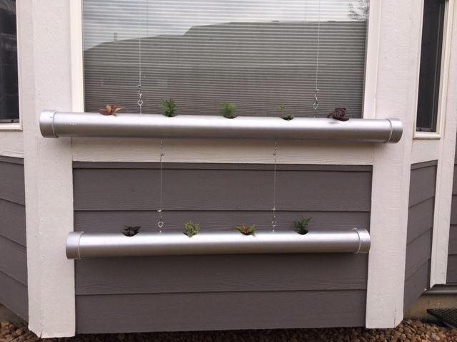 hanging platers by window frame