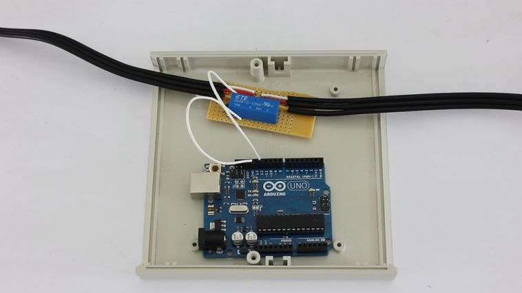 mount the arduino in an enclosure