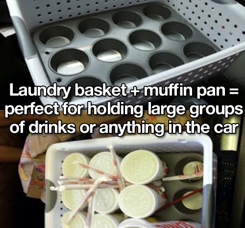 muffin tray for drinks