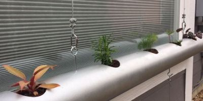 stylish hanging garden planter