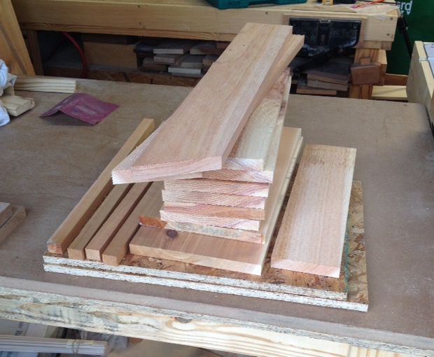 carefully cut and select your lumber