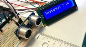 Ultrasonic Distance Measurement Using An Arduino