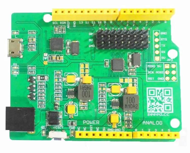 Servoduino PCB Complete