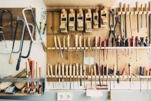 Keeping workshop clean and organised