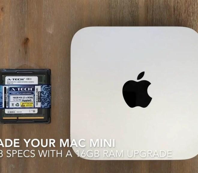 Upgrade Your 2011 Mac Mini To 16GB Of RAM