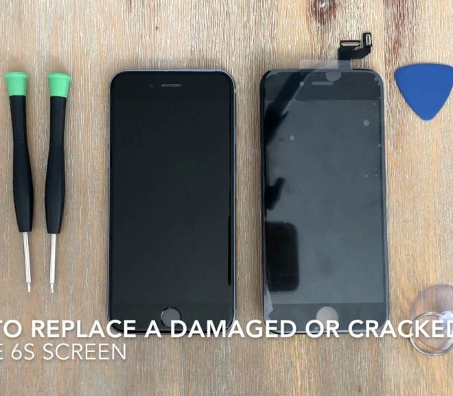 How To Replace A Shattered Or Damaged iPhone 6s Screen