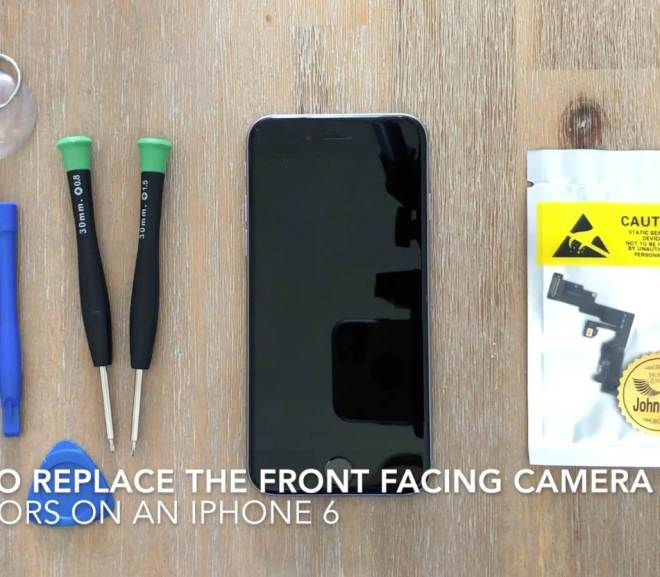 How To Replace The Front Camera On An iPhone 6