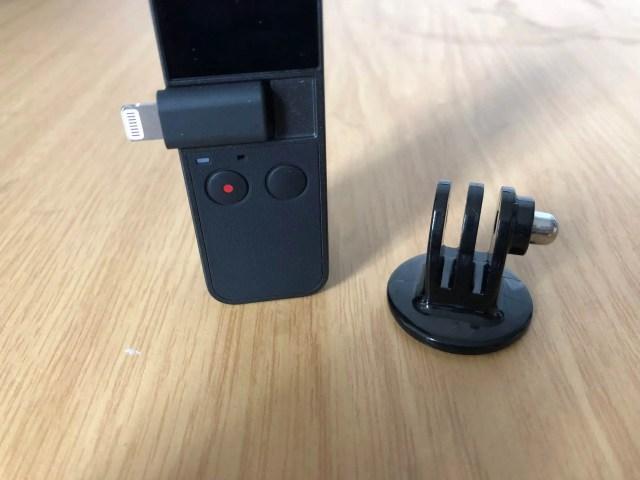 DJI Osmo Pocket GoPro Adapter