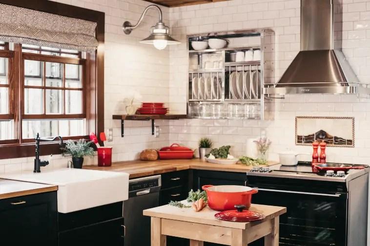 Rustic kitchen upgrades