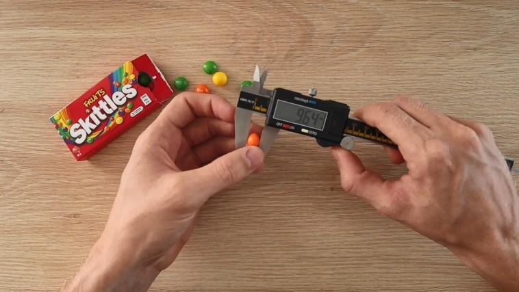 Measuring Skittles