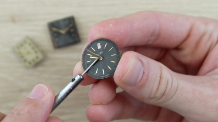 Removing Hands From Watch
