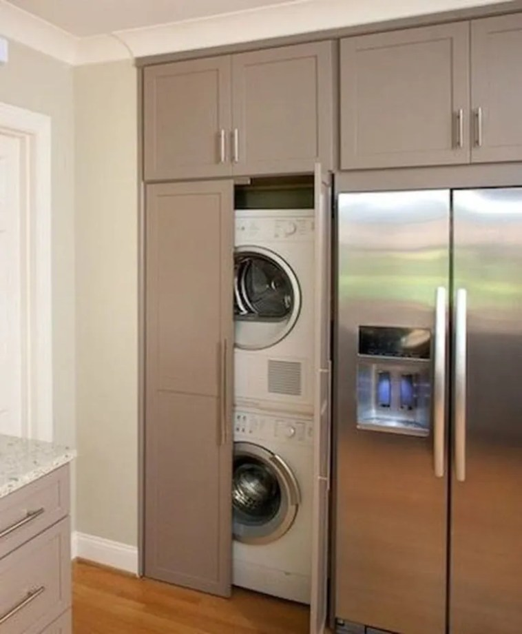 A Laundry Cupboard In Your Kitchen