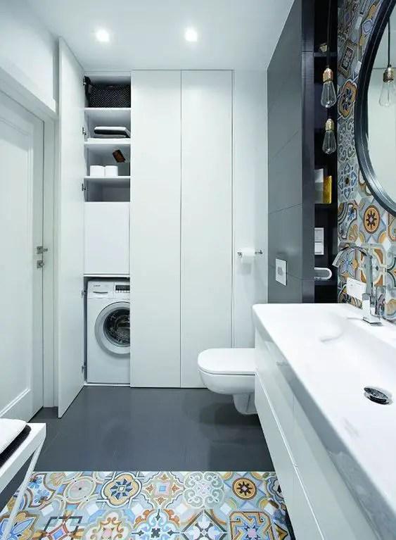 Bathroom Cabinet Laundry