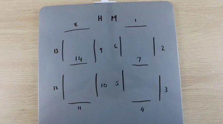 Segment Numbering