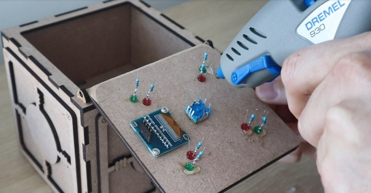 Glue Components To The Box