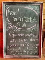 I'm a market stall