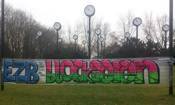 Blockupy im Volksgarten