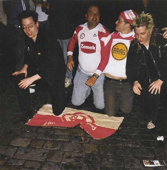 2003: Allahen auf der Ratingerstraße (Quelle: altstars.de)