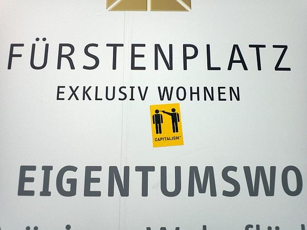 Bauschild-Verschönerung anno 2013