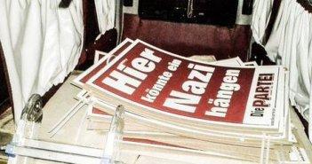 Hier könnte ein Nazi hängen (Foto: Die PARTEI)