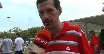 Wolfgang Fiegen im Paul-Janes-Stadion (Foto: YouTube)