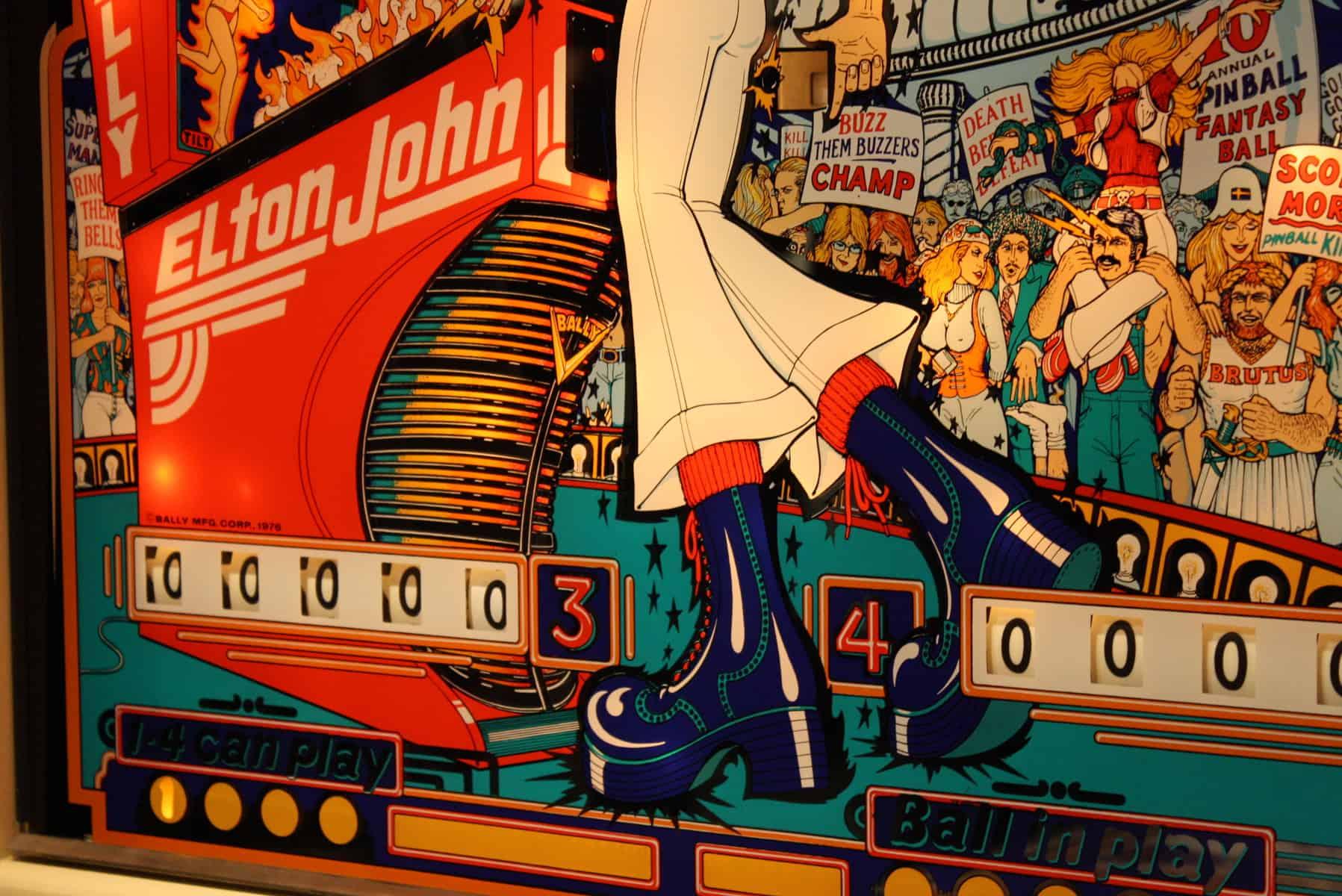 Der Original-Pinball-Wizard-Flipper im CBGB (via Flickr)