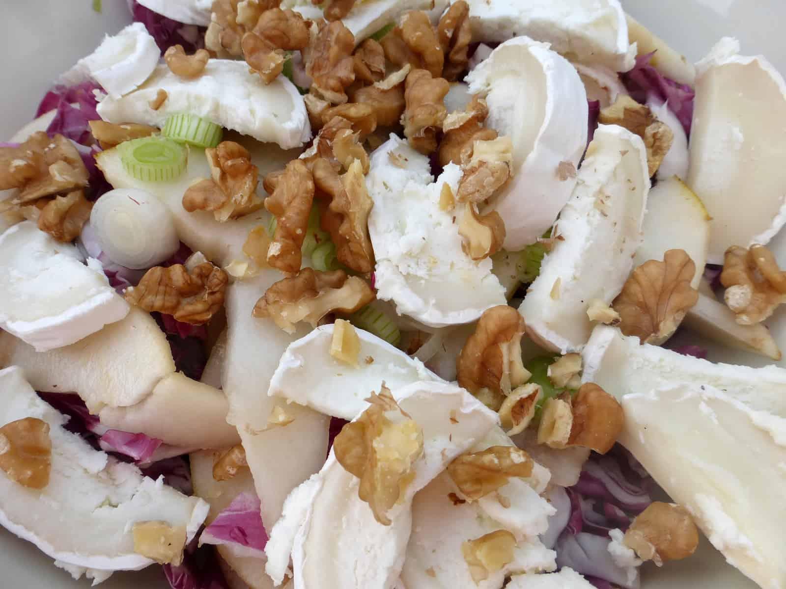 RdW: Wunderbarsalat mit Radicchio, Birne und Käse