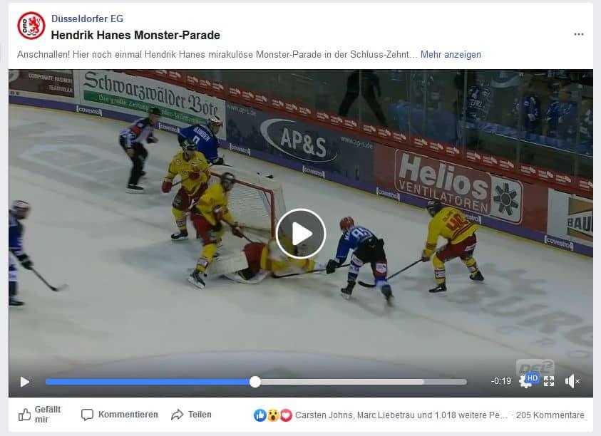 SERC vs DEG: Henrik Hanes Monster-Save