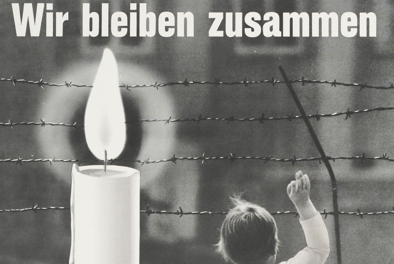 17. Juni: Dreigeteilt niemals! mit Kerzen und Fackelzüge...