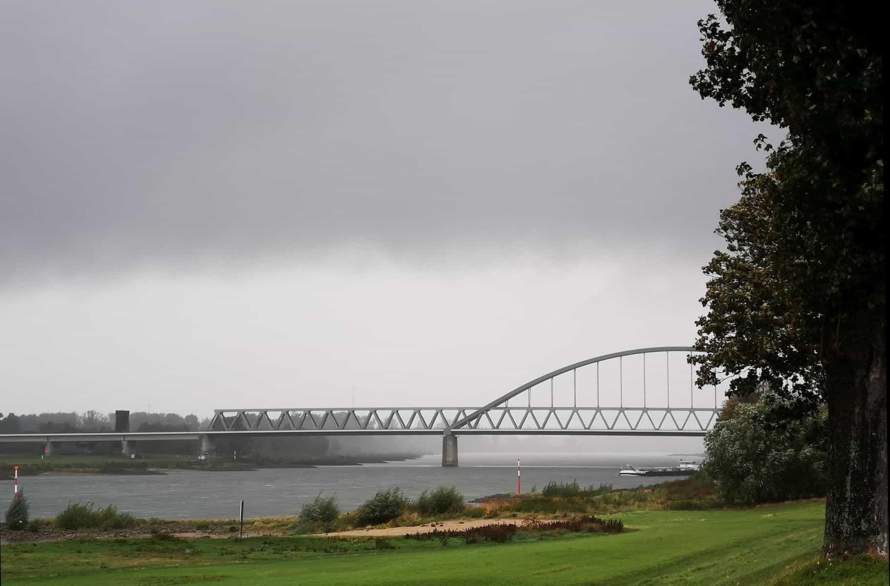 Regen an der Hammer Brücke