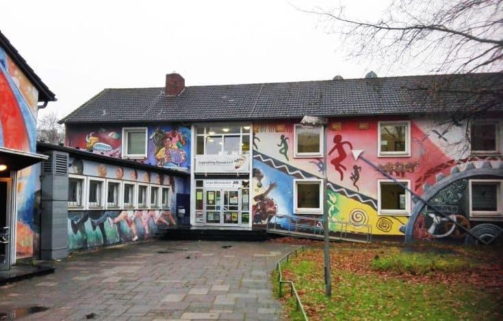 Das Haus der Jugend heute, kurz vor dem Abriss (Foto: TD)