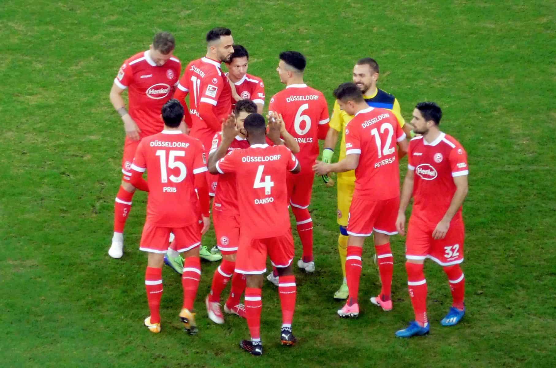 F95 vs Paderborn: Die Stimmung stimmt im Rudel