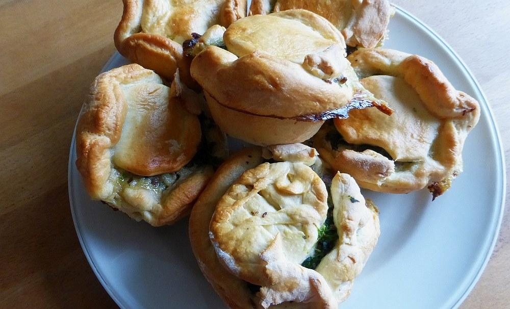 Original lettische Piroggi vom Muffin-Blech (Foto: TD)